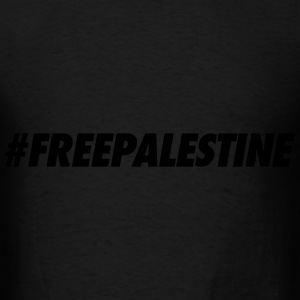#FREEPALESTINE Long Sleeve Shirts - Men's T-Shirt