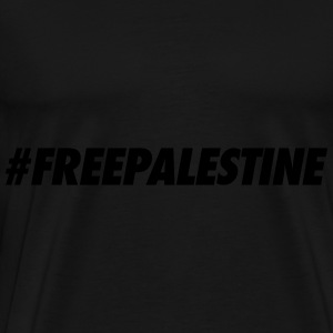 #FREEPALESTINE Long Sleeve Shirts - Men's Premium T-Shirt
