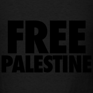 Free Palestine Tanks - Men's T-Shirt