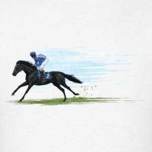 racehorse Long Sleeve Shirts - Men's T-Shirt