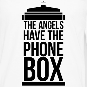 the angels have the phone box Kids' Shirts - Men's Premium Long Sleeve T-Shirt