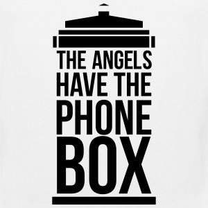the angels have the phone box Kids' Shirts - Men's Premium Tank