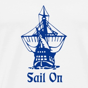 Sail on Tanks - Men's Premium T-Shirt