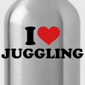 I love Juggling Kids' Shirts - Water Bottle