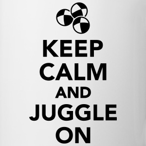 Keep calm and juggle on T-Shirts - Coffee/Tea Mug