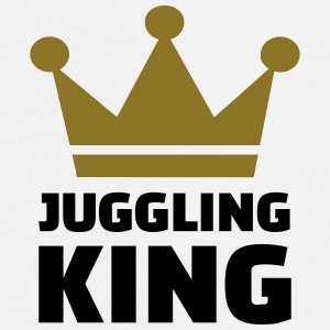 Juggling King Bottles & Mugs - Men's Premium T-Shirt