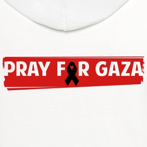 Pray For Gaza - Contrast Hoodie