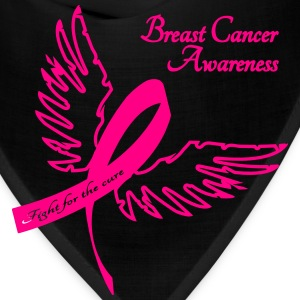 Breast Cancer Awareness Outline Women's T-Shirts - Bandana