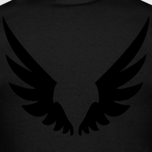 Wings, Angel wings Long Sleeve Shirts - Men's T-Shirt