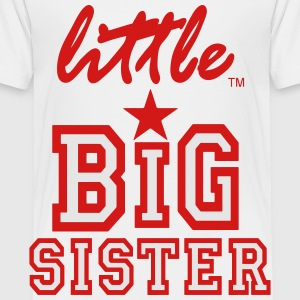 Little Big Sister - Toddler Premium T-Shirt