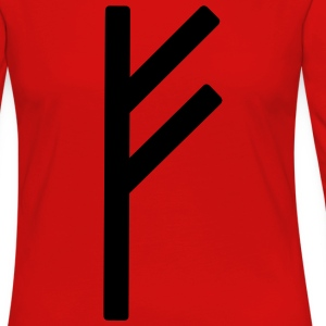 Fé Runic Wealth Men - Women's Premium Long Sleeve T-Shirt