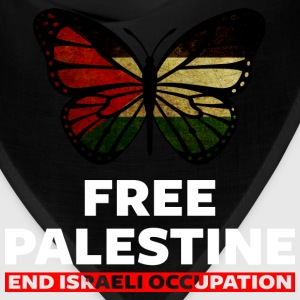 Free Palestine end Israeli Occupation - Bandana