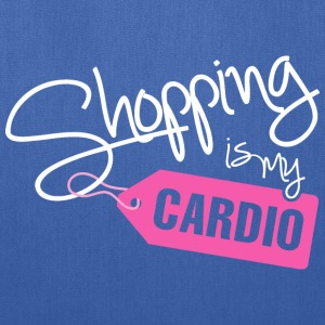 SHOPPING IS MY CARDIO - Tote Bag