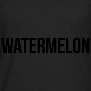 Watermelon Hoodies - Men's Premium Long Sleeve T-Shirt