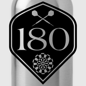 Darts 180 Flight Shirt - Water Bottle