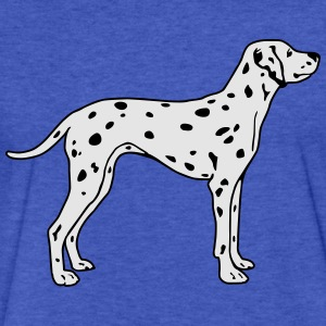 Dalmatian Dog Sweatshirts - Fitted Cotton/Poly T-Shirt by Next Level