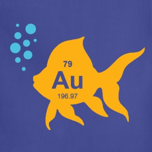 Periodic Table Elemental Gold Fish T-Shirts - Adjustable Apron