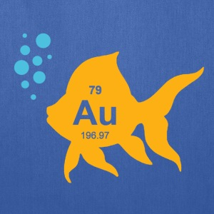Periodic Table Elemental Gold Fish T-Shirts - Tote Bag