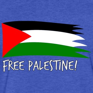 Free Palestine Sweatshirts - Fitted Cotton/Poly T-Shirt by Next Level