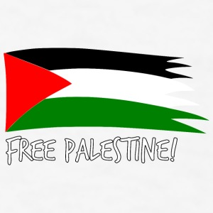Free Palestine Bottles & Mugs - Men's T-Shirt
