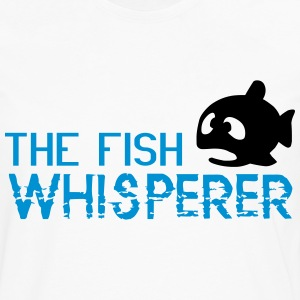 The fish whisperer T-Shirts - Men's Premium Long Sleeve T-Shirt