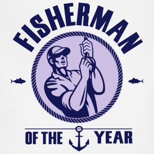 Fisherman of the year T-Shirts - Adjustable Apron