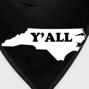 North Carolina Yall T-Shirts - Bandana