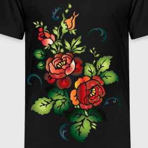 Flowers Kids' Shirts - Toddler Premium T-Shirt