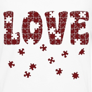 The Puzzle of Love Women's T-Shirts - Men's Premium Long Sleeve T-Shirt