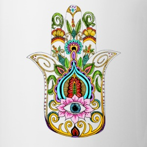 Hamsa hand pillowcase - Coffee/Tea Mug