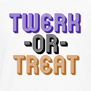 TWERK or treat - Men's Premium Long Sleeve T-Shirt