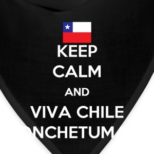 Keep calm and viva Chile Women's T-Shirts - Bandana