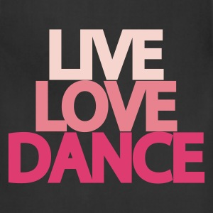 Live Love Dance Youth Hoodie - Adjustable Apron