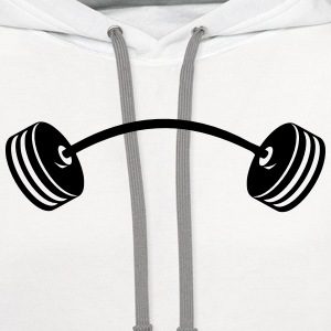 Dumbbell T-Shirts - Contrast Hoodie