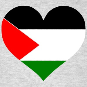 Palestine Heart Men - Men's T-Shirt