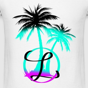 Palm trees & a nice breeze - Men's T-Shirt