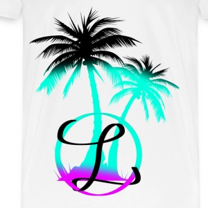 Palm trees & a nice breeze - Men's Premium T-Shirt