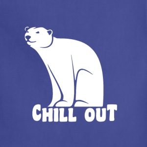 Chill Out Polar Bear T-Shirts - Adjustable Apron