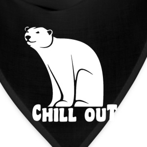 Chill Out Polar Bear T-Shirts - Bandana
