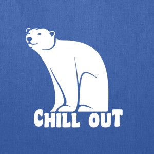 Chill Out Polar Bear T-Shirts - Tote Bag