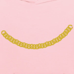 Gold Chain Curved as a Ne - Kids' Hoodie