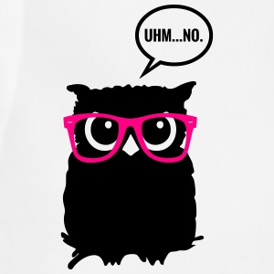 Hipster Owl with Glasses T-Shirts - Adjustable Apron