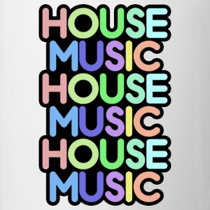 house music T-Shirts - Coffee/Tea Mug
