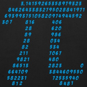Pi, Math, Mathematic, Irrational Number, Science T - Eco-Friendly Cotton Tote