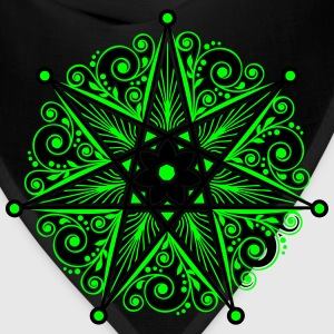 Elven Star, Heptagram, Perfection & Protection T-Shirts - Bandana