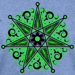 Elven Star, Heptagram, Perfection & Protection T-Shirts - Women's Wideneck Sweatshirt