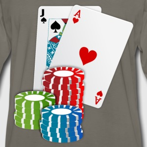 Cards and Chips - Men's Premium Long Sleeve T-Shirt