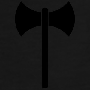 labrys double headed axe vector Caps - Men's Premium T-Shirt