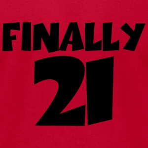 Finally 21 Tanks - Men's T-Shirt by American Apparel