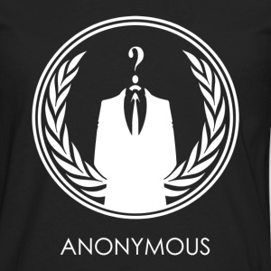 Anonymous hacker - Men's Premium Long Sleeve T-Shirt